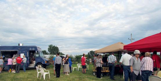 Juneberry Festival, Juneberry Farm in Willard, NY (2017)