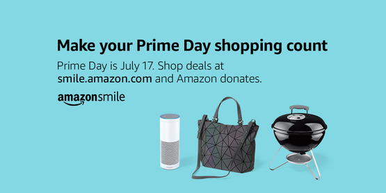 Prime Day - Amazon Donates to CCE