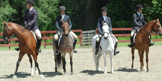 Equestrienne competition, 4-H Fair, Chenango County