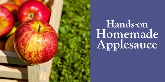 Make Your Own Homemade Applesauce
