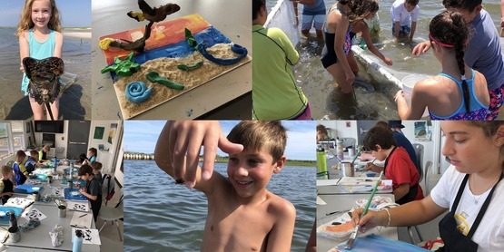 Tiana kids photo collage