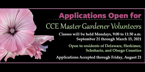 Master Gardener Training 2020
