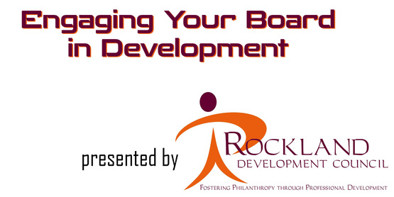 Rockland Development Council presents...