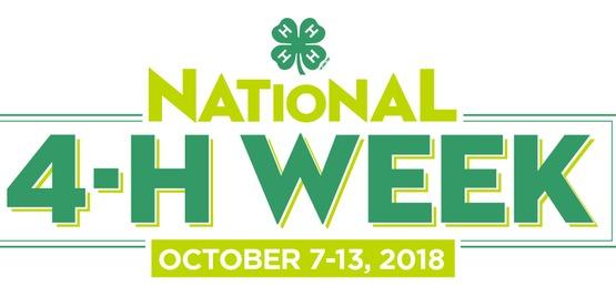 2018 National 4-H Week