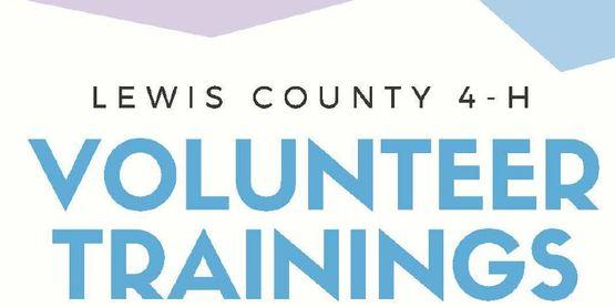 volunteer trainings