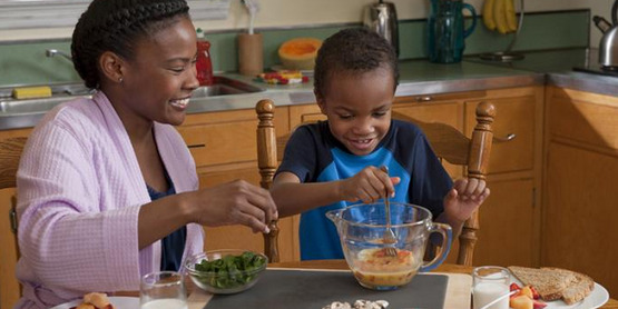 Children often will eat new foods that they help you to prepare!