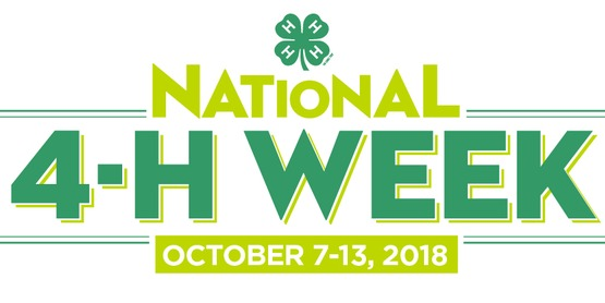 2018 National 4-H Week