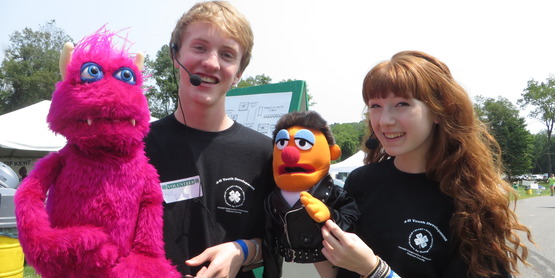 Kyle & Leigh, Former 4-H Puppeteers