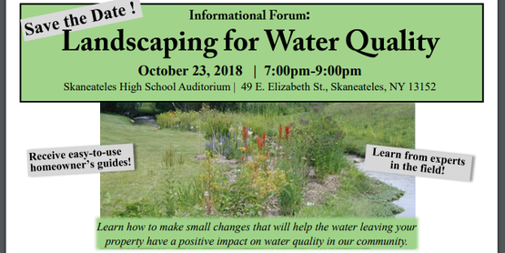 Forum: Landscaping for Water Quality