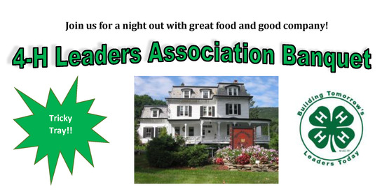 2018 4-H Leaders Association Banquet