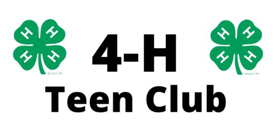 4H Teen Club