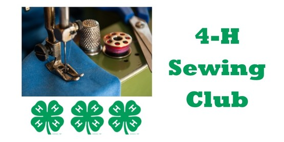 4-H Sewing Club Meeting