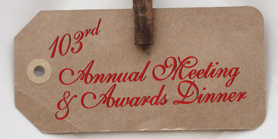 103rd Annual Meeting & Awards Dinner
