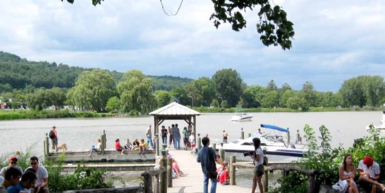 Steamboat Landing at the Ithaca Farmers Market