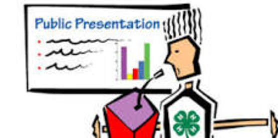 4-H Public Presentation Training - Otsego County