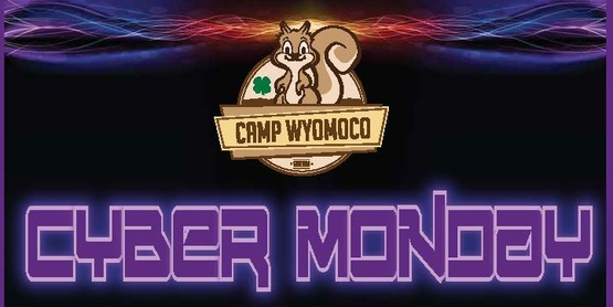 2018-2019 Camp Wyomoco Cyber Monday Sale