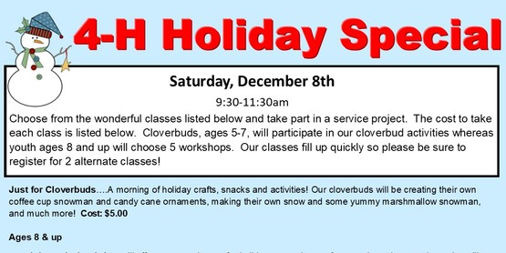 4-H Holiday Special