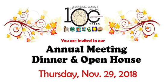 Annual Meeting, Dinner & Open House