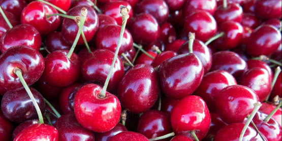 Buy locally grown cherries at Farmers' Markets in your area!