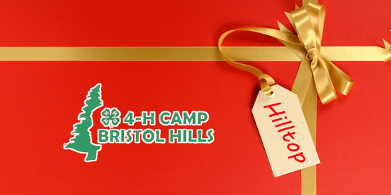 I want to donate to the Hilltop and Give the Gift of 4-H Camp.