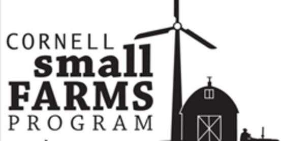 Cornell Small Farms Program graphic