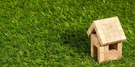 Housing grass stock photo