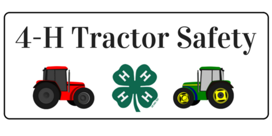 Youth Tractor Safety Course - Genesee County 4-H
