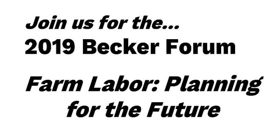 Becker Forum