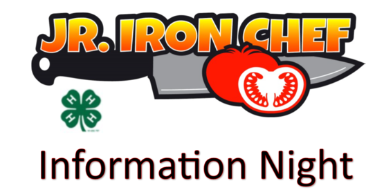 Jr Iron Chef Information Night