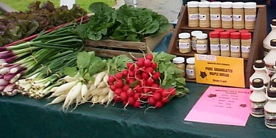 Farm Market Table