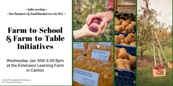 Info Session: Farm-to-School & Farm-to-Table Initiatives