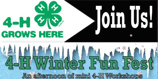 4-H Winter Fun Fest