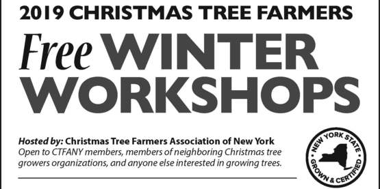 Christmas Tree Farmers Free Winter Workshops