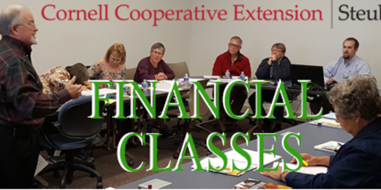 Upcoming Financial Classes