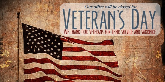 Veteran's Day - Office Closed
