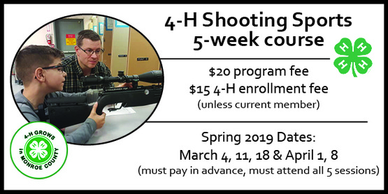 2019 4-H Shooting Sports Course