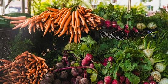 Vegetables carrots stock photo