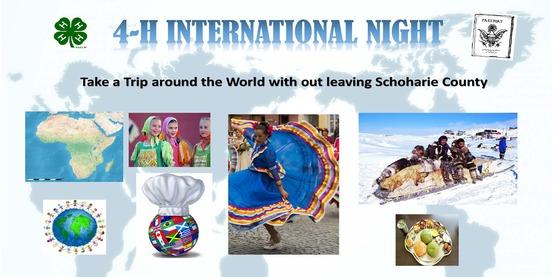 4-H International Night - Schoharie County