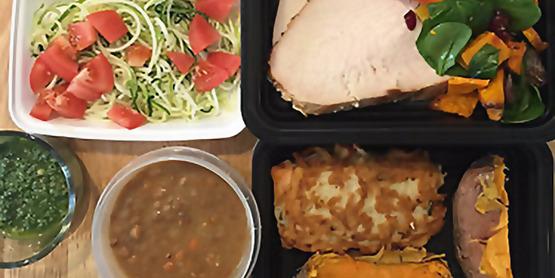 meal prep squares