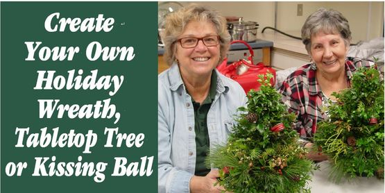 wreath and tree workshop