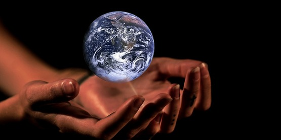Earth. Hands. Eco Action. Stewardship.
