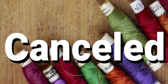 Adult sewing Canceled