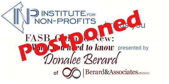 INP Seminar on FASB Postponed