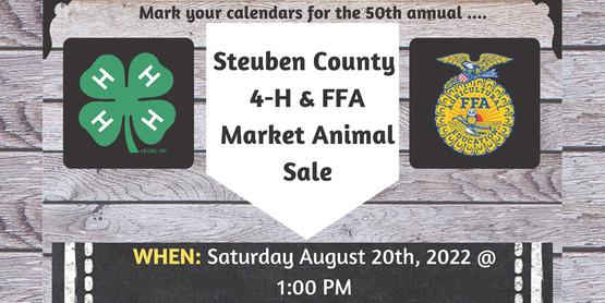 Market Animal Sale 2022