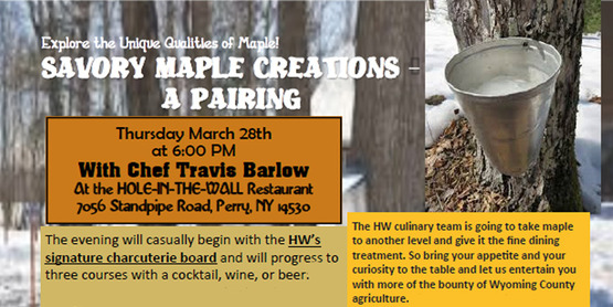 Maple Creations event