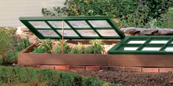 Learn about using cold frames in your home garden.
