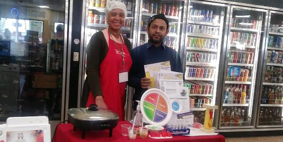 Heart Healthy Tasting with ESNY Nutritionist, Mandela Store