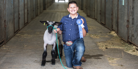 4-H sets itself apart from other youth organizations by encouraging youth to take responsibility through learning about and caring for animals
