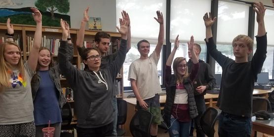 Whitesville Seniors learning to de-stress