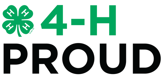 Proud to be a 4-H member!